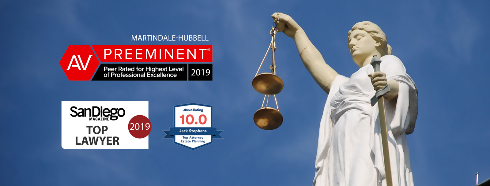 Preeminent Rating by Martindale-Hubbell 2019